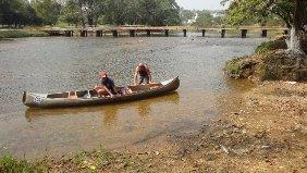 Kanutour Belize River
